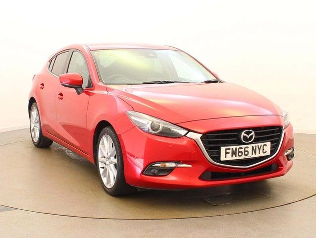 2017 Mazda Mazda3 2.0 Sport Nav (120ps) Hatchback 5d Auto (66 reg)