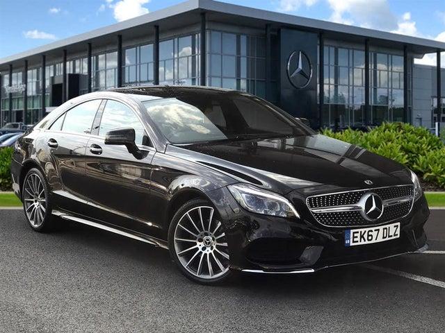 2017 Mercedes-Benz CLS-Class 2.1d CLS220 AMG Line (Premium)(s/s) Coupe 4d (67 reg)