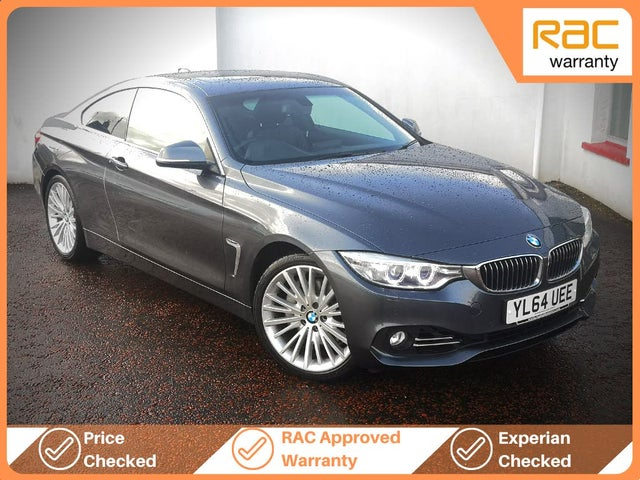 2015 BMW 4 Series 3.0 435i Luxury Coupe 2d Auto (64 reg)