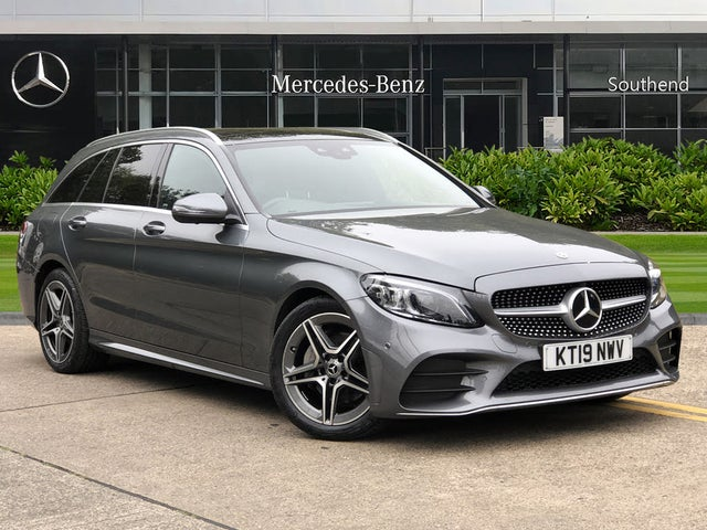 2019 Mercedes-Benz C-Class 1.5 C200 AMG Line (Premium Plus)(s/s) Estate 5d (19 reg)