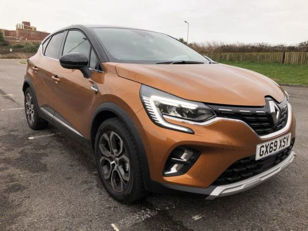 2020 Renault Captur 1.0 TCe S Edition (69 reg)