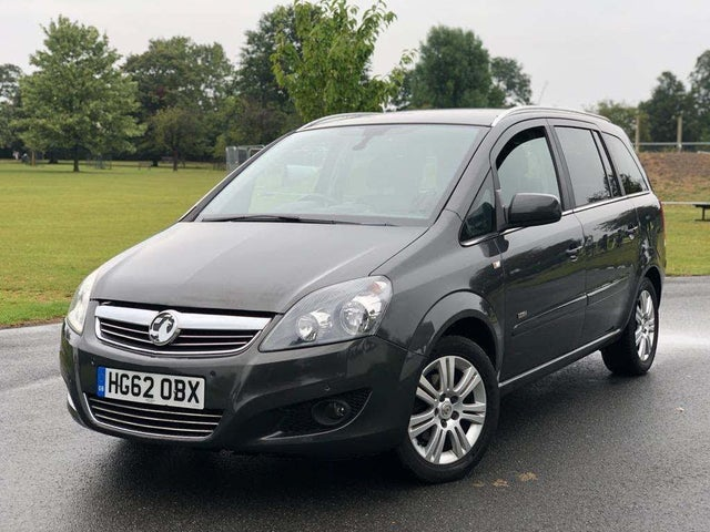 2012 Vauxhall Zafira 1.6 Design (62 reg)