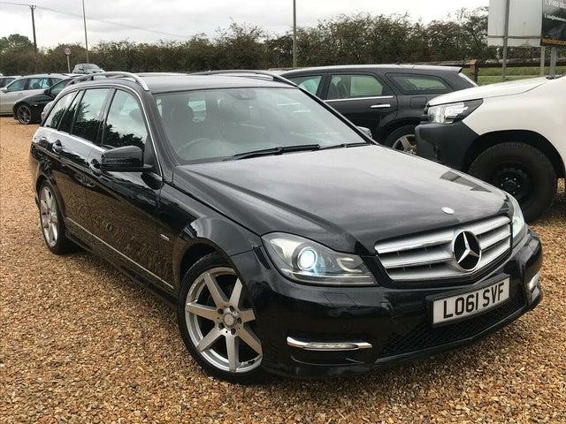 2012 Mercedes-Benz C-Class 2.1TD C220 CDi Sport Estate 5d 7G-Tronic (61 reg)