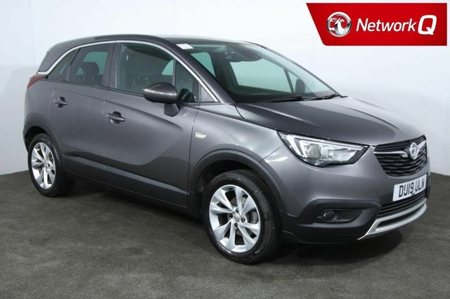 2019 Vauxhall Crossland X 1.2 Tech Line NAV (110ps) Turbo (s/s) Auto (19 reg)