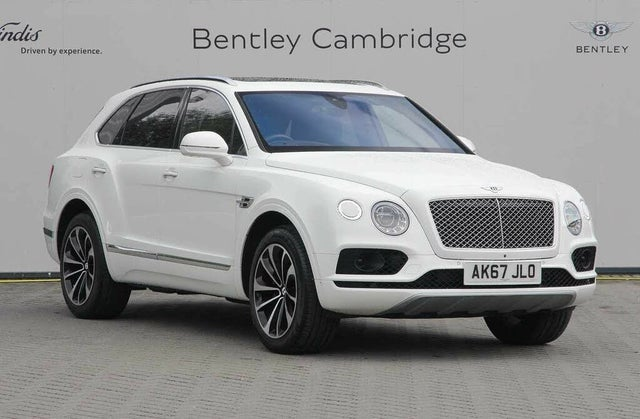 2017 Bentley Bentayga 6.0 W12 (67 reg)