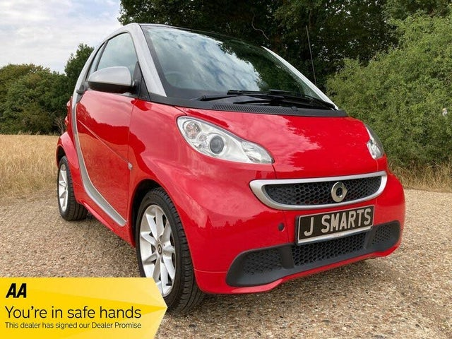 2012 Smart fortwo 1.0 Passion (83bhp) Coupe Softouch (12 reg)