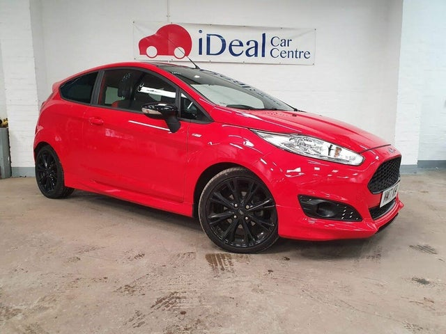 2017 Ford Fiesta 1.0T ST-Line Red Edition (17 reg)