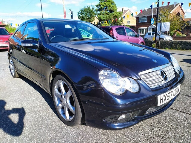 2008 Mercedes-Benz C-Class 1.8 C180 Kompressor Sport Edition Coupe 2d auto (57 reg)