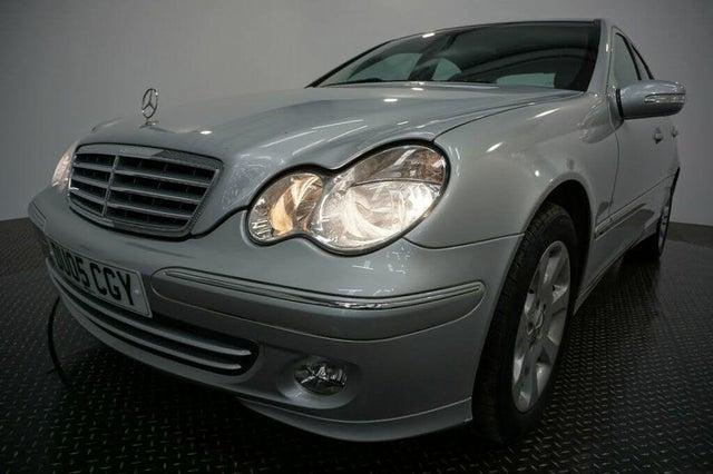 2005 Mercedes-Benz C-Class 1.8 C180 Kompressor Elegance SE Saloon 4d auto (05 reg)
