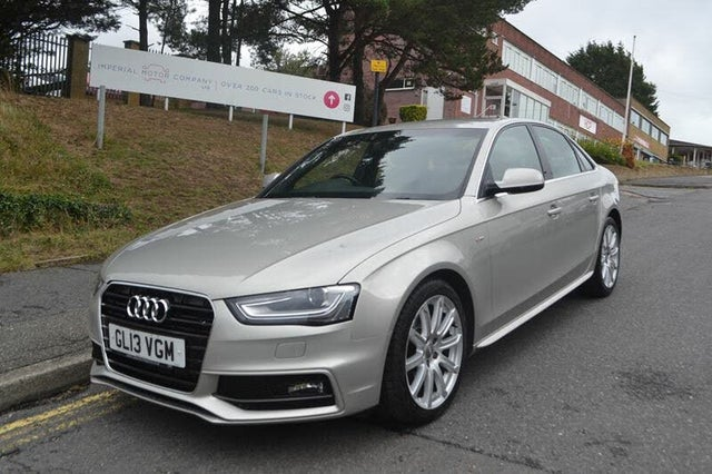 2013 Audi A4 2.0TD S Line (143ps) Multitronic (13 reg)