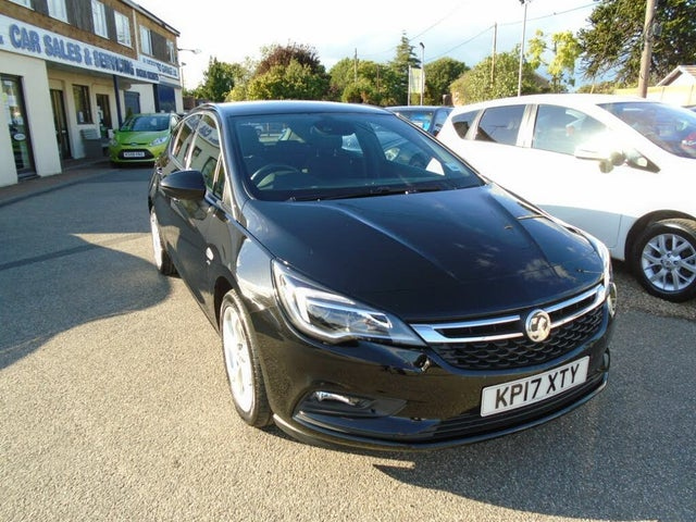 2017 Vauxhall Astra 1.4i 16v Turbo SRi (150ps) Hatchback (17 reg)