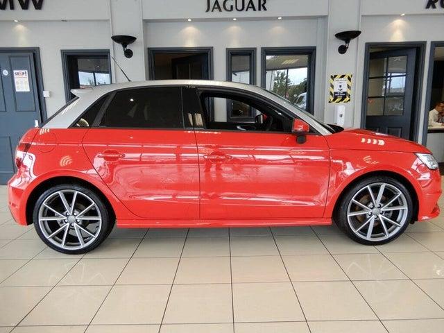 2017 Audi A1 1.6TDI Black Edition Nav Sportback 5d (67 reg)