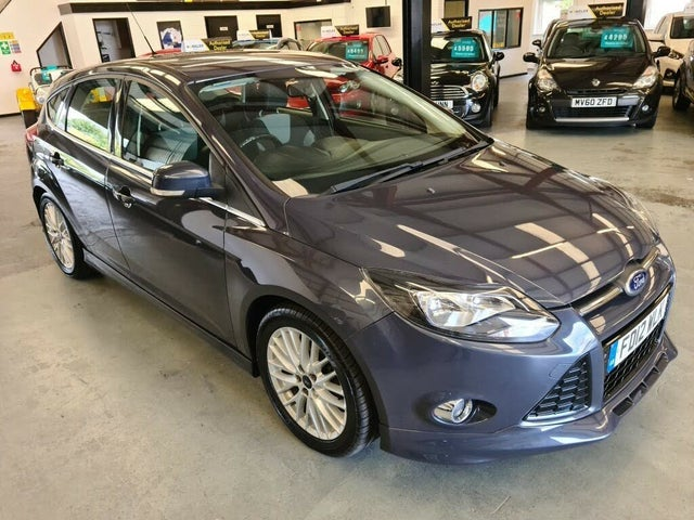 2012 Ford Focus 1.6TDCi Zetec S (115ps) Hatchback (12 reg)
