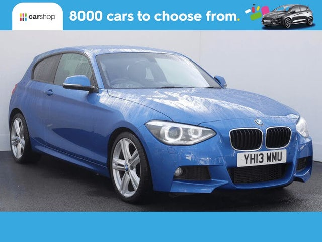 2013 BMW 1 Series 2.0TD 118d M Sport (143bhp) (s/s) Sports Hatch 3d (13 reg)