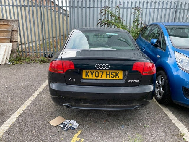 2007 Audi A4 2.0TD S Line (170PS)(DPF) Special Edition 1968cc (07 reg)