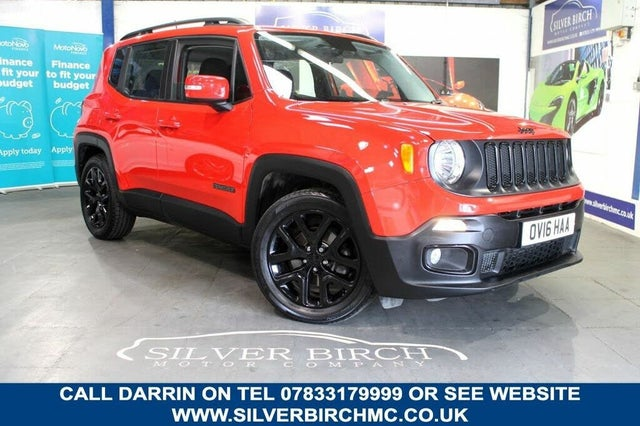 2016 Jeep Renegade 1.6 Multijet II Dawn of Justice (16 reg)