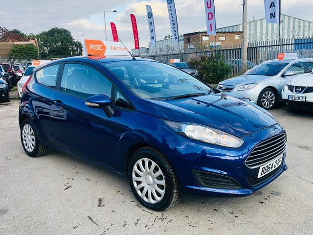 2014 Ford Fiesta 1.25 Style (60ps) 3d (64 reg)
