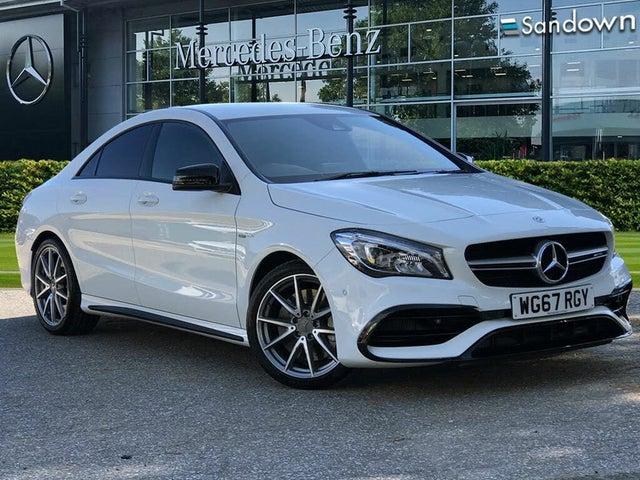 2017 Mercedes-Benz CLA 2.0 CLA AMG 45 Coupe 4d (67 reg)