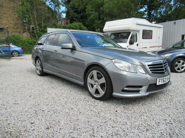 2012 Mercedes-Benz E-Class 3.0TD E350 CDI Avantgarde (264bhp) CDI BlueEFFICIENCY (s/s) Estate 5d 7G-Tronic Plus (62 reg)