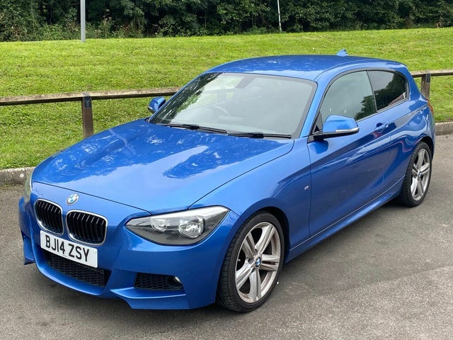 2014 BMW 1 Series 2.0TD 118d M Sport (143bhp) (s/s) Sports Hatch 3d Auto (14 reg)
