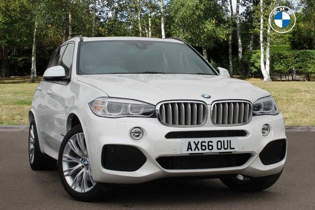 2017 BMW X5 3.0TD xDrive40d M Sport (66 reg)