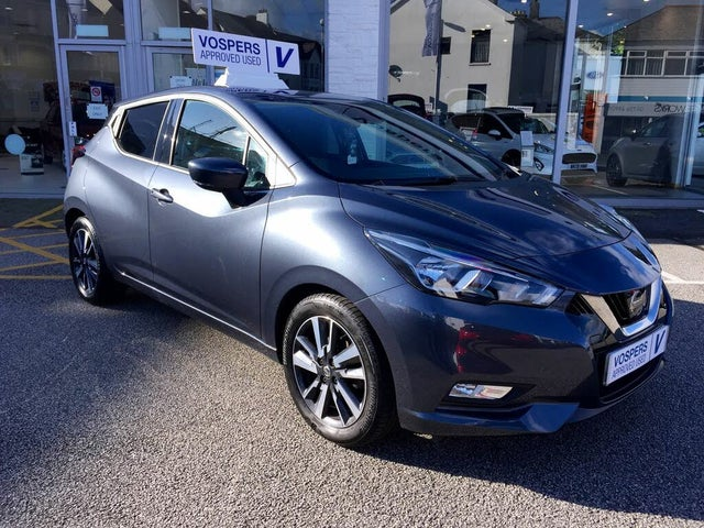 2017 Nissan Micra 0.9 IG-T N-Connecta (67 reg)