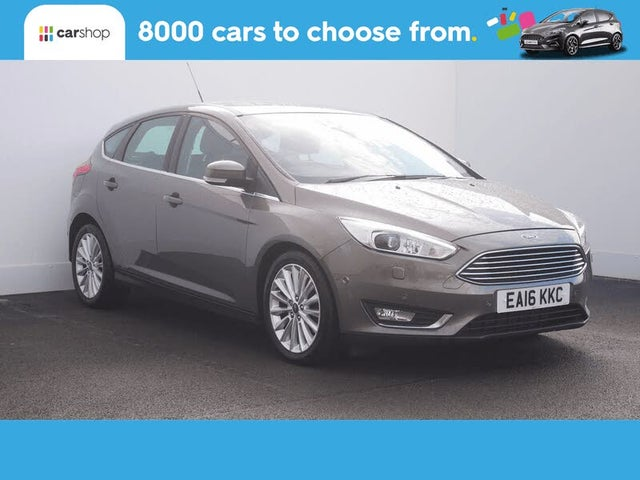 2016 Ford Focus 2.0TDCi Titanium X Hatchback Powershift (16 reg)