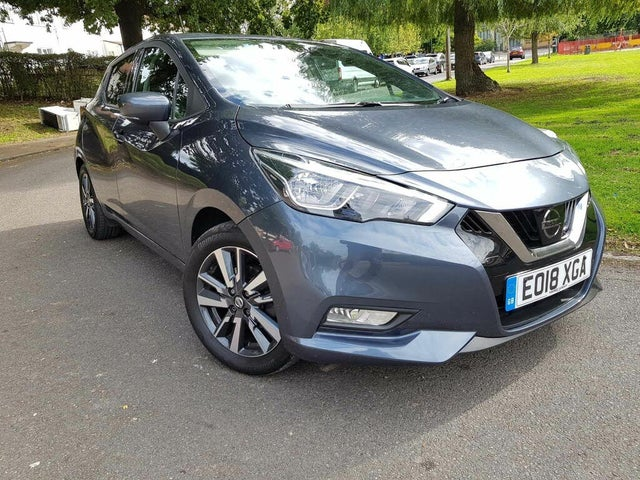 2018 Nissan Micra 0.9 IG-T N-Connecta (18 reg)