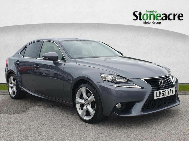 2013 Lexus IS 300h 2.5 Premier (63 reg)
