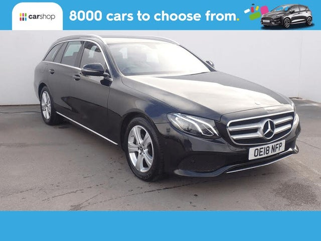 2018 Mercedes-Benz E-Class 2.0d E220d SE (s/s) Estate 5d (18 reg)