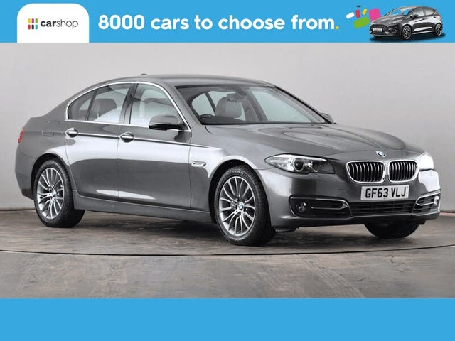 2013 BMW 5 Series 2.0TD 525d Luxury Saloon 4d Auto (63 reg)