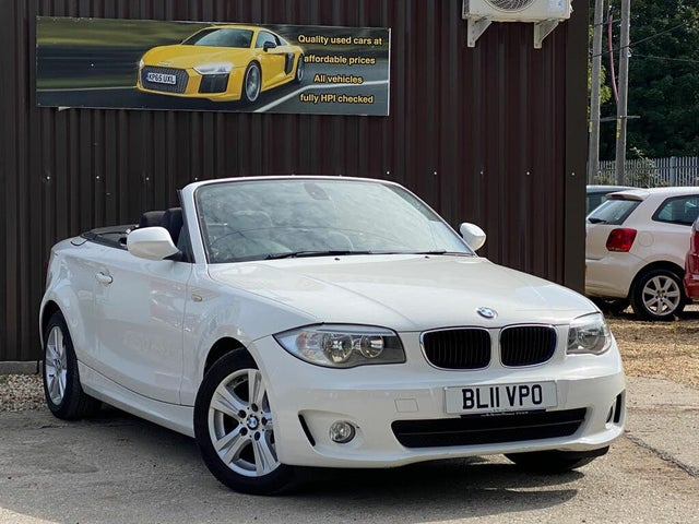 2011 BMW 1 Series 2.0 118i SE Convertible 2d (11 reg)