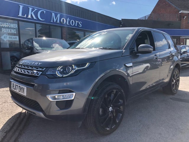 2017 Land Rover Discovery Sport 2.0Td4 HSE Luxury 2.0TD4 Station Wagon Auto (17 reg)