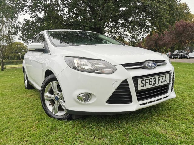 2013 Ford Focus 1.6TDCi Zetec (115ps) Hatchback (63 reg)