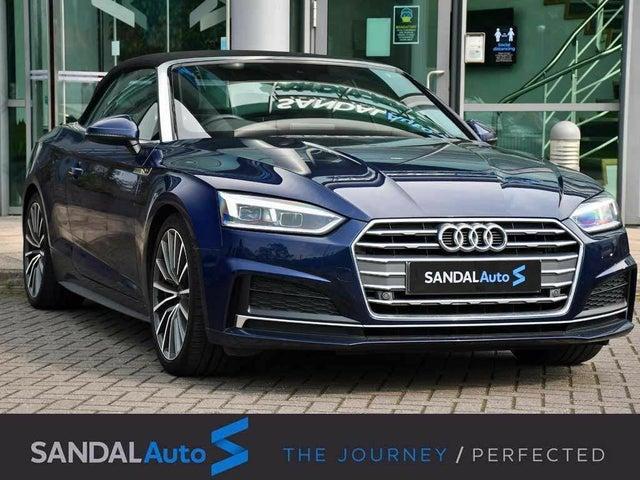 2019 Audi A5 2.0 40 TDI S Line (s/s) Cabriolet 2d (69 reg)