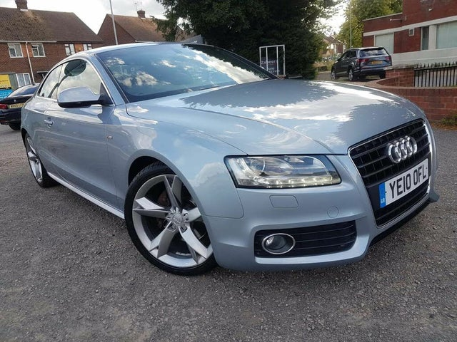 2010 Audi A5 2.7TD S Line Special Edition (190ps) Coupe Multitronic (10 reg)