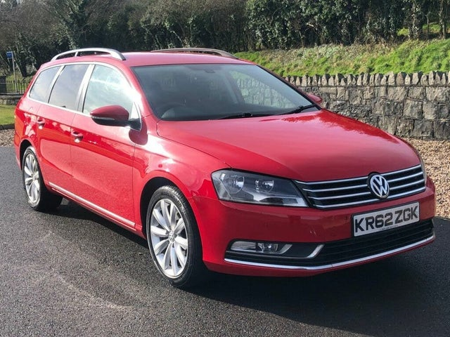 2013 Volkswagen Passat 2.0TD Highline Estate 5d (62 reg)