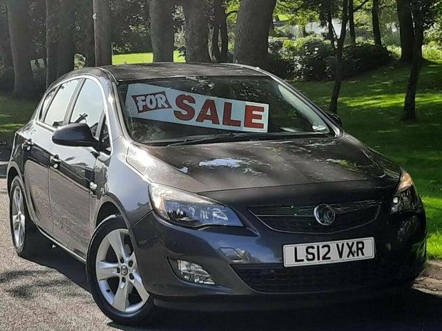 2012 Vauxhall Astra 1.7TD SRi (125ps) ecoFLEX Hatchback 1686cc (12 reg)