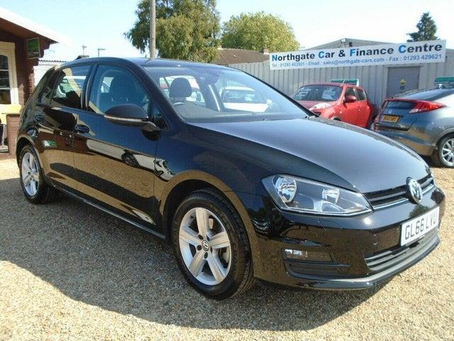 2016 Volkswagen Golf 1.4 TSI Match Edition Hatchback 5d (66 reg)