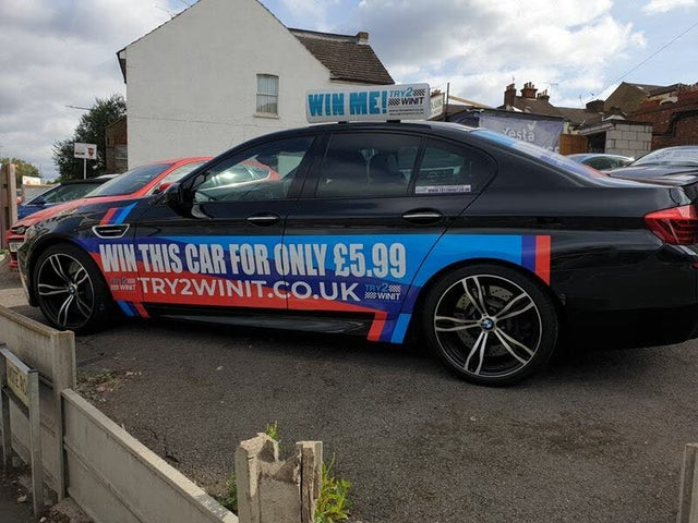 2014 BMW 5 Series 4.4 M5 (64 reg)