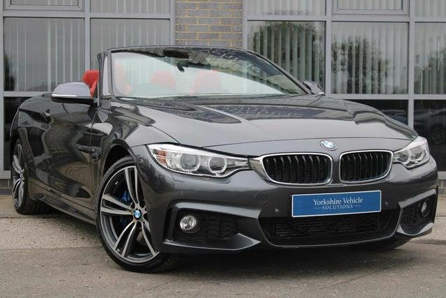2015 BMW 4 Series 2.0 428i M Sport Convertible 2d Auto (64 reg)