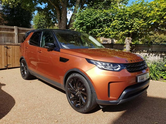 2017 Land Rover Discovery 3.0TD6 First Edition (88 reg)