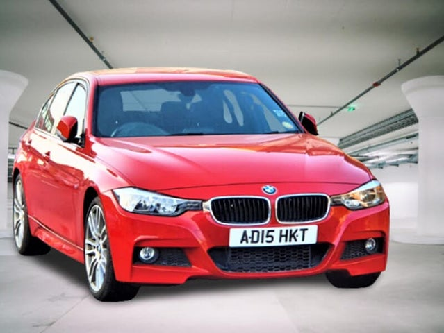 2015 BMW 3 Series 2.0TD 320d M Sport (184bhp) BluePerformance Saloon 4d (15 reg)
