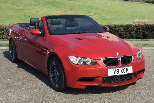 2013 BMW 3 Series 4.0 M3 Convertible DCT (XC reg)