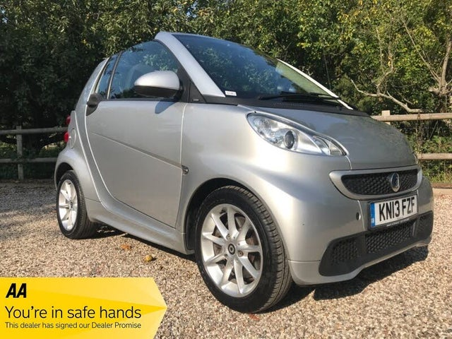 2013 Smart fortwo 1.0 Passion (71bhp) Cabriolet (13 reg)