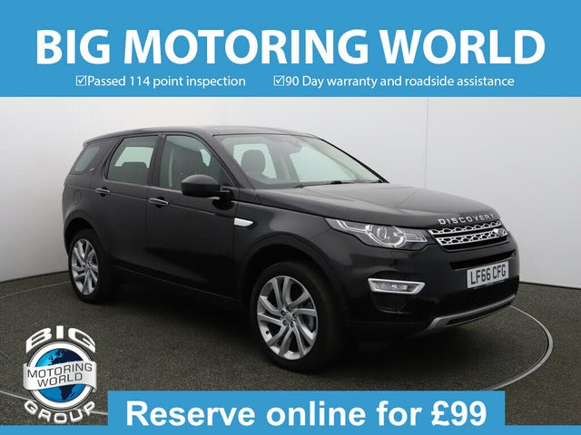 2016 Land Rover Discovery Sport 2.0Td4 HSE Luxury (s/s) (66 reg)
