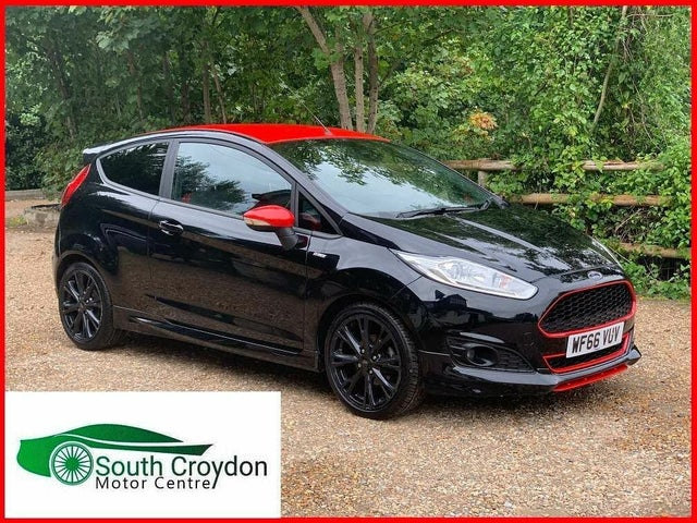 2016 Ford Fiesta 1.0T ST-Line Black Edition (66 reg)