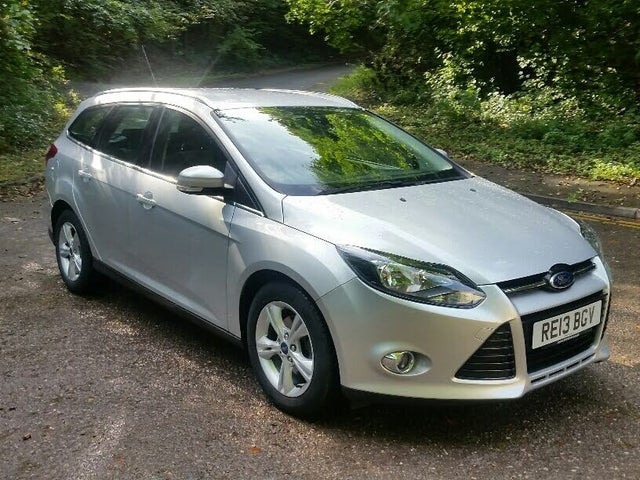 2013 Ford Focus 1.6 Zetec TI-VCT (125ps) Estate Powershift (13 reg)