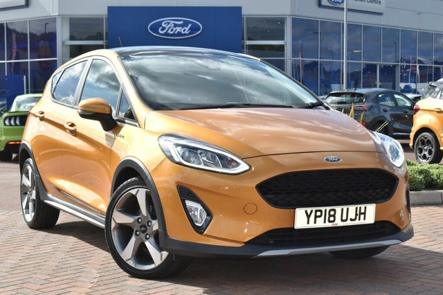 2018 Ford Fiesta 1.0T Active X (140ps) (18 reg)