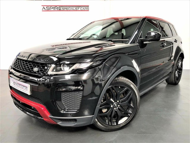 2016 Land Rover Range Rover Evoque 2.0Td4 Ember Special Edition (66 reg)